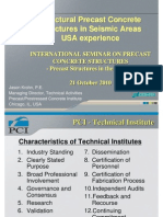 2 - Structural Precast Concrete Structures in Seismic Areas _USA Experience - Jason Krohn