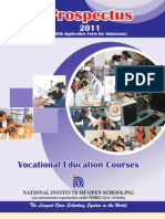 Vocational Prospectus 2011