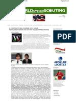 Il contenuto delle norme Uefa sulla regolamentazione dei giovani nelle Coppe Europee