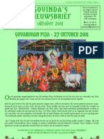 Govinda's_e-Nieuwsbrief_2011_10