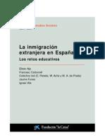 -La Caixa - Los retos educativos (inmigración)