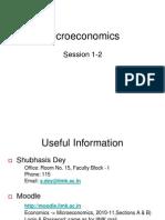 Microeconomics 1
