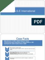 Image International Case Analysis