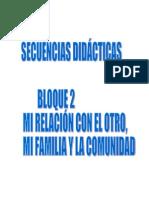 Secuencias Bloque 2               2011-2012