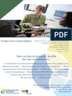 Health Populations Communities Meeting Flyer