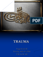 trauma management over view