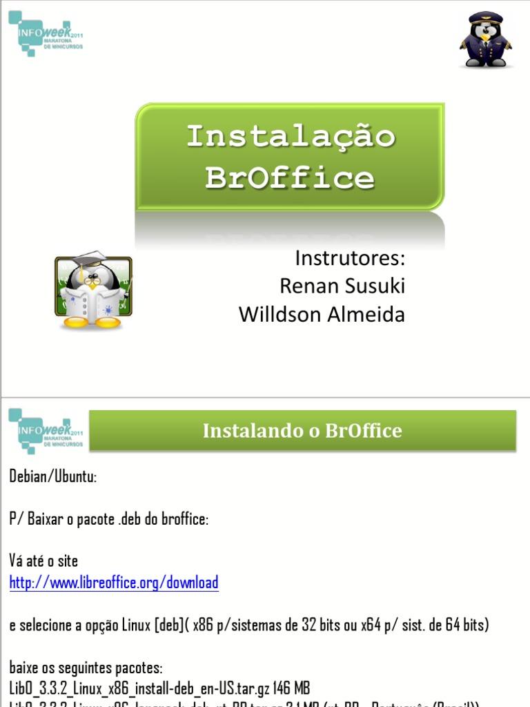 BAIXAR GRATIS BROFFICE 3.2