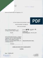 Dual Lever Suspension v. Santa Cruz Bicycles et. al.