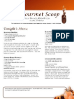 the gourmet scoop - october 2011
