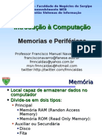 Modulo 03 - Memoria e Perifericos