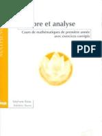 Algèbre et analyse 2e éd