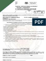 PLANES FORTALECIMIENTO 10° INGLÉS I-II PERIODO   2011