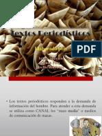 Textos Periodísticos - lectura y red.