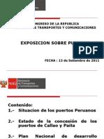 Situacion de Los Puertos Peruanos Vmt Rev. -13.09.11