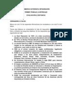 COMERCIO EXTERIOR E INTEGRACIÓN 2