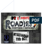 Roadies Pre-Lauch - Presentation - V2.1