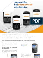 Guia Rapida de Programacion y Fallas Blackberry GSM Equipos Liberados