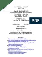 Investigacion Historia Del Maquinado