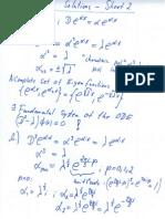 Solutions Sheet2