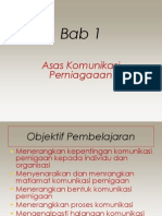 Bab 1 Asas Komunikasi Perniagaan