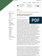 Revista VEJA  Edição 2013  20 de junho de 2007-Tratamento_Cancer