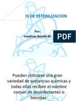 LIQUIDOS DE ESTERILIZACION