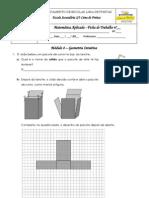 Ficha 1 mod 8 - cef - Sólidos poliedros