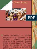 Literatura Greco Latina