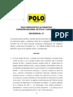 Decision No.17 Samuel Moreno-okok