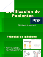 Movilizacion de Pacientes Pps