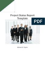 Template Status Report