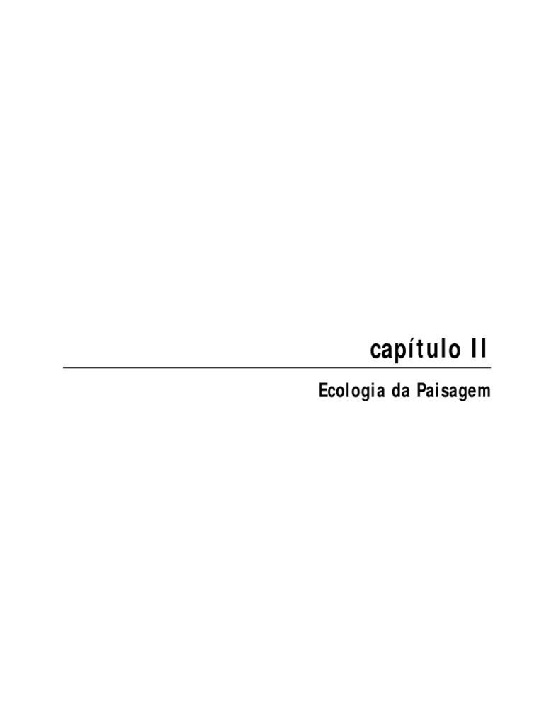 02 Ecologia Da Paisagem Cap2 b017d1b5d0