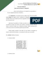 11 Aplicaciones de matrices (criptografía)