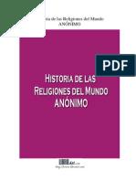 Historia de Las Religiones Del Mundo