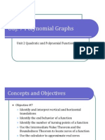 Obj. 7 Polynomial Functions and Their Graphs (Presentation)