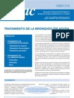 Tratamiento Bronquiolitis y Laringitis