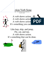 Microsoft Word - Action Verb Song
