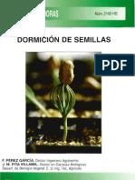 hd dormición de semillas