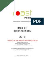 Drop-Off Catering 2010 - June 10