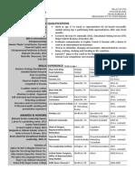 FOY Resume 01.Dec.2012