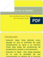 Soluciones No Ideales