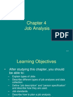 Job Analysis Ch 4
