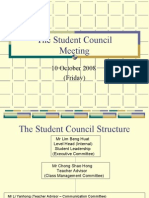 Student Council Briefing (091008)