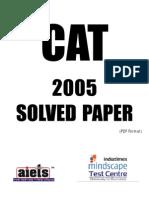 CAT-2005 Paper