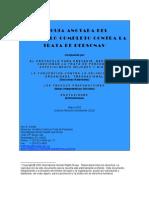 Guía Anotada Del Protocolo Completo Contra La Trata de Personas