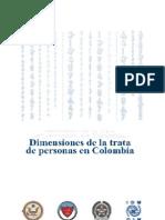 Dimensiones de La Trata de Personas en Colombia