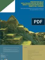 Prevención de La ESCI en El ámbito Del Turismo - Peru