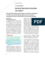 San Luis Digital  2011, nota tercer día.