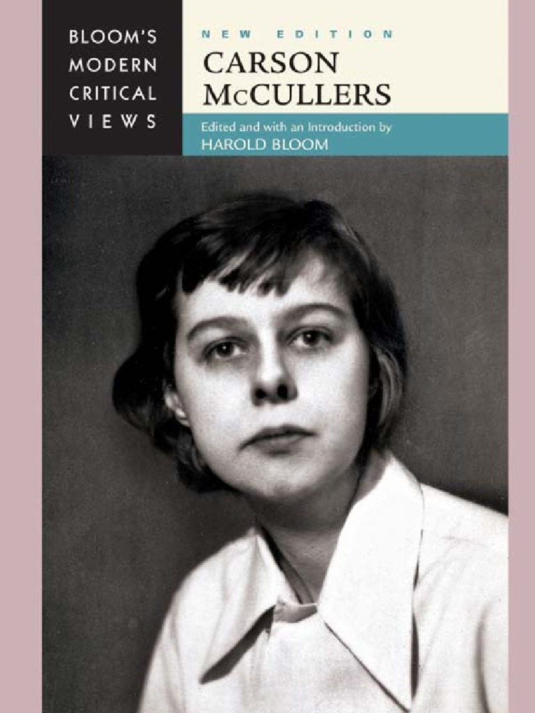 Carson McCullers - Bloom's Modern Critical Views | Queer Theory | Visual  Perception