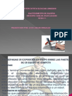 Presentacion p.p.sobre Hardware